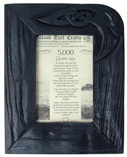 Bog Oak Frame (9'' x 7'') (BK7) by Island Turf Crafts Ltd