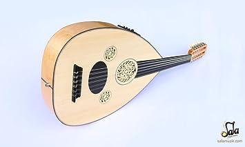 Cuerda de tuerca eléctrica de medio corte profesional turco para Ud instrumento OUDE # 3