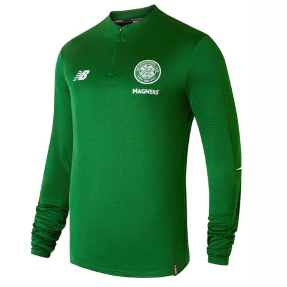 New Balance 2018-2019 Celtic Midlayer Training Top (Grün)