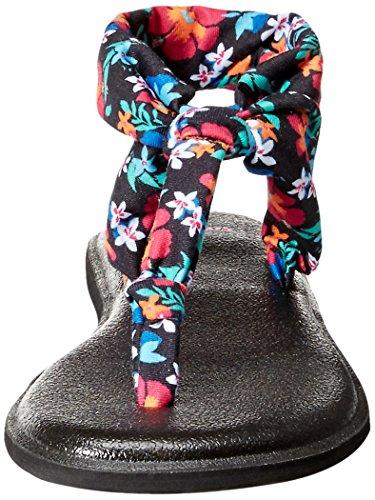 Sanuk SanukYoga Sling Ella - Yoga Sling Ella Para mujer Black Waikiki Floral