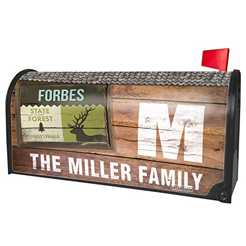 NEONBLOND Custom Mailbox Cover National US Forest Forbes State Forest -