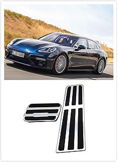 For Porsche Panamera  Silver Centre Dashboard Air Vent Outlet Cover 2010-2016