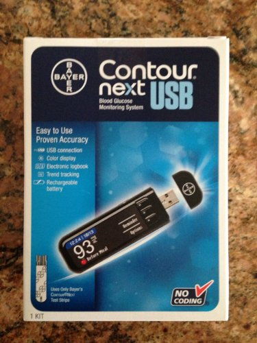 Bayer Contour Next USB blood Glucose monitoring system 1 ...
