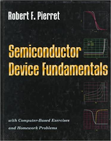 semiconductor device fundamentals robert f pierret 9780201543933