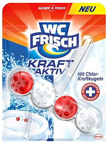 WC Frisch Kraft-Aktiv Duftspüler Chlor-Kraftkugeln Paket, 10er Pack (10x 50 g)