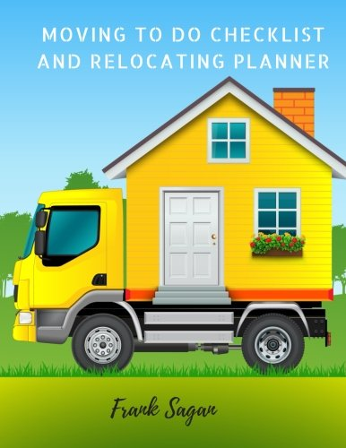 Moving to Do Checklist and Relocating Planner: Moving Journal Checklist