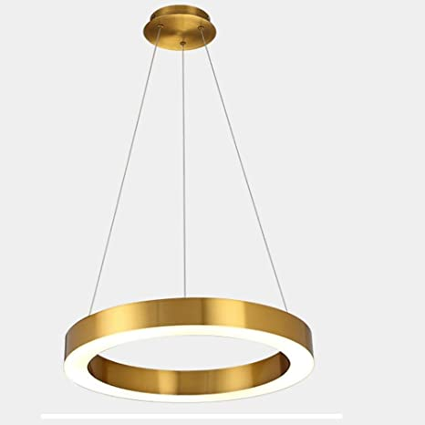 Lámpara de techo LED Modern Circular techo colgante lustre ...