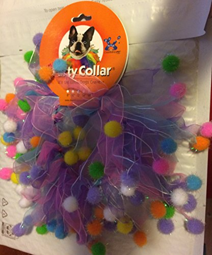 Charming Pet Dog Or Cat Party Collar Large 14