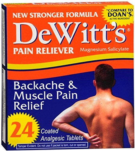 DeWitt's Backache & Muscle Pain Relief 24 Tablets