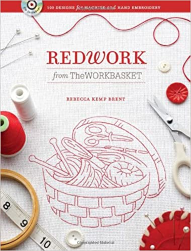 Redwork From The Workbasket 100 Designs For Machine And Hand