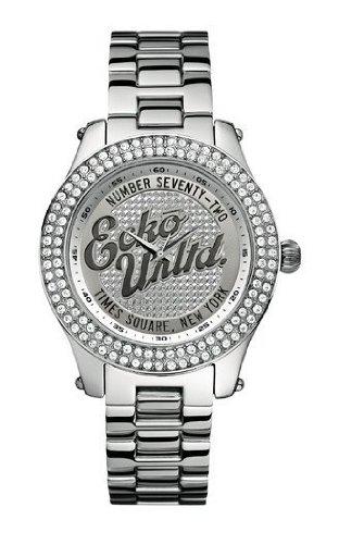 Marc Ecko Reloj Análogo clásico para Mujer de Cuarzo con Correa en Acero Inoxidable E13598M1: Amazon.es: Relojes
