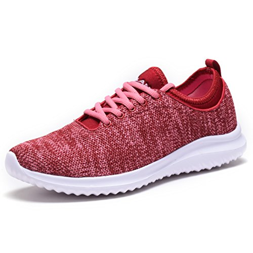 Women Fashion Sneakers Sport Shoes (Pink) - 9