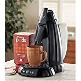 Juan Valdez JVPM1W Pod Coffee Brewing System with Iced Tea Spout, Black
