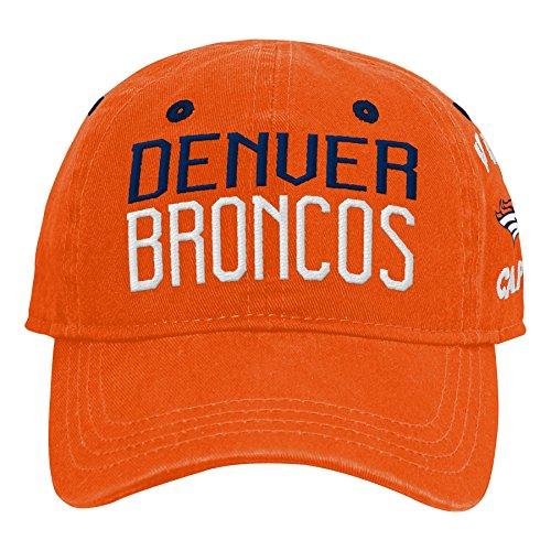 Outerstuff NFL NFL Denver Broncos Infant My First Slouch Hat Orange, Infant One Size