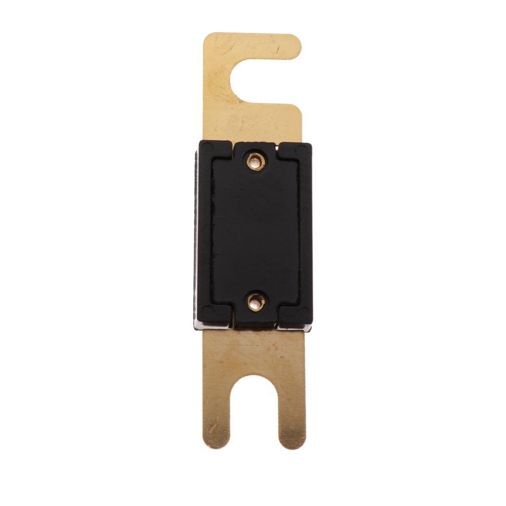 Homyl 4 x 200A ANL Sicherung vergoldete Kontakte ANL Sicherungen Hochtemperaturbest/ändiges Geh/äuse