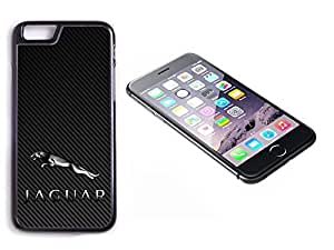 iPhone 6 Black Plastic Hard Case with High Gloss Printed Insert Jaguar