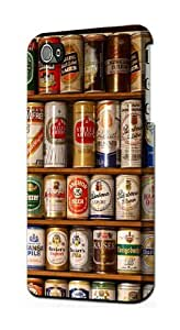 S0983 Beer Cans Collection Case Cover For IPHONE 4 4S