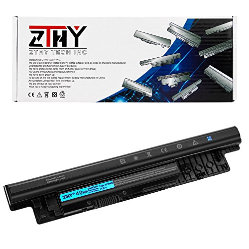 ZTHY 40WH XCMRD Laptop Battery Replacement For Dell Inspiron 14 3421 15 3521 3537 3542 3543 17 3721 14R 5421 15R 5521 5537 17R 5721 Vostro 2421 2521 Series Notebook G35K4 14.8V 4-Cell