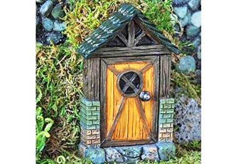 New Miniature Mini Dollhouse FAIRY GARDEN Accessories - Mini English Cottage Fairy Door - Supplies Acces. (Kit English Cottage)