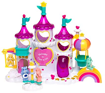 Care Bears Magical Care-a-lot Castle with Cheer Bear, Wish Bear, Funshine  Bear & Grumpy Bear