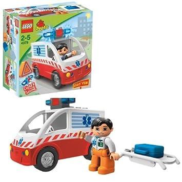 Lego Duplo 4979 Ambulance Amazoncouk Toys Games