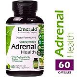 Emerald Laboratories - Adrenal Health - with Sensoril ® Ashwagandha for Energy, Sleep & Stress - 60 Vegetable Capsules