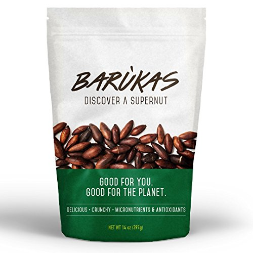 Barùkas: Discover a Supernut - Roasted Baru Nuts in a 14 ounce (397 gram) Resealable Bag for Freshness by Barukas Inc.