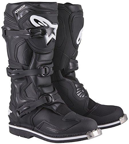 Alpinestars Tech 1 Men's Off-Road Motorcycle Boots - Black / 9