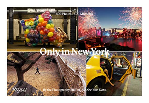 Curated from hundreds of thousands of photos from The New York Times' archives Only in New York brings together the most memorable, poignant, and historic images of the Big Apple. This beautiful gift book celebrates New York in a way that will be tre...