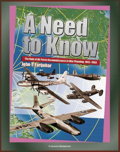 - A Need to Know: The Role of Air Force Reconnaissance in War Planning, 1945-1953 - Radar Principles, World War I and II, Korean War