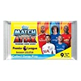 10x Topps EPL Match Attax 2017/18 Trading Card Collection Booster Pack (10 sealed packs)