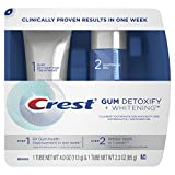 Crest Gum Detoxify + Whitening 2 Step Toothpaste, 4.0 oz and 2.3 oz