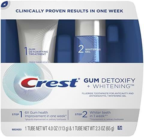 Crest Gum Detoxify Plus Whitening 2 Step Toothpaste