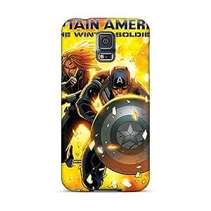 Protective Cell-phone Hard Cover For Samsung Galaxy S5 (kdJ5575OZCC) Unique Design Stylish Big Hero 6 Pattern