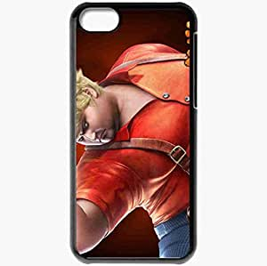 Personalized iPhone 5C Cell phone Case/Cover Skin Tekken 6 Black
