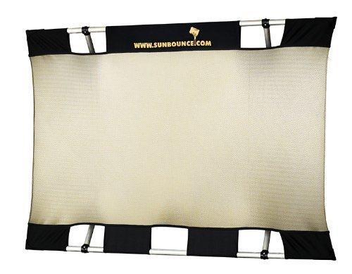 California Sunbounce Mini Kit (3 x 4 Feet) Kit - Reflector Panel Kit with Frame and Carry Bag (Zebra/White)