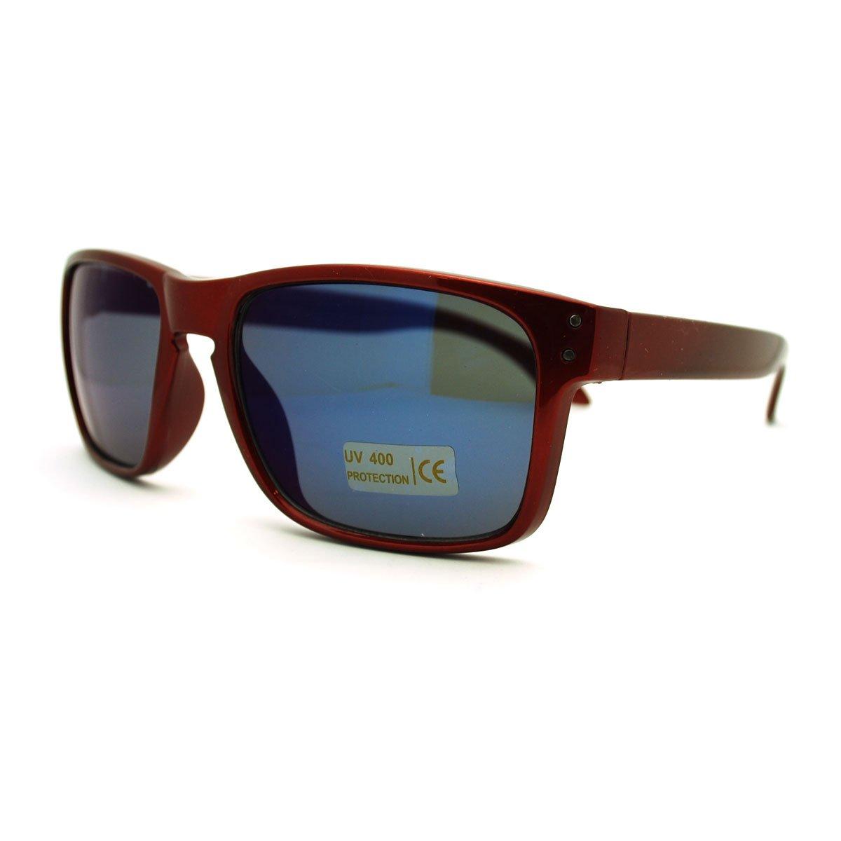 Square Rectangular Sunglasses Mens Classic Fashion Multicolor Revo Lens