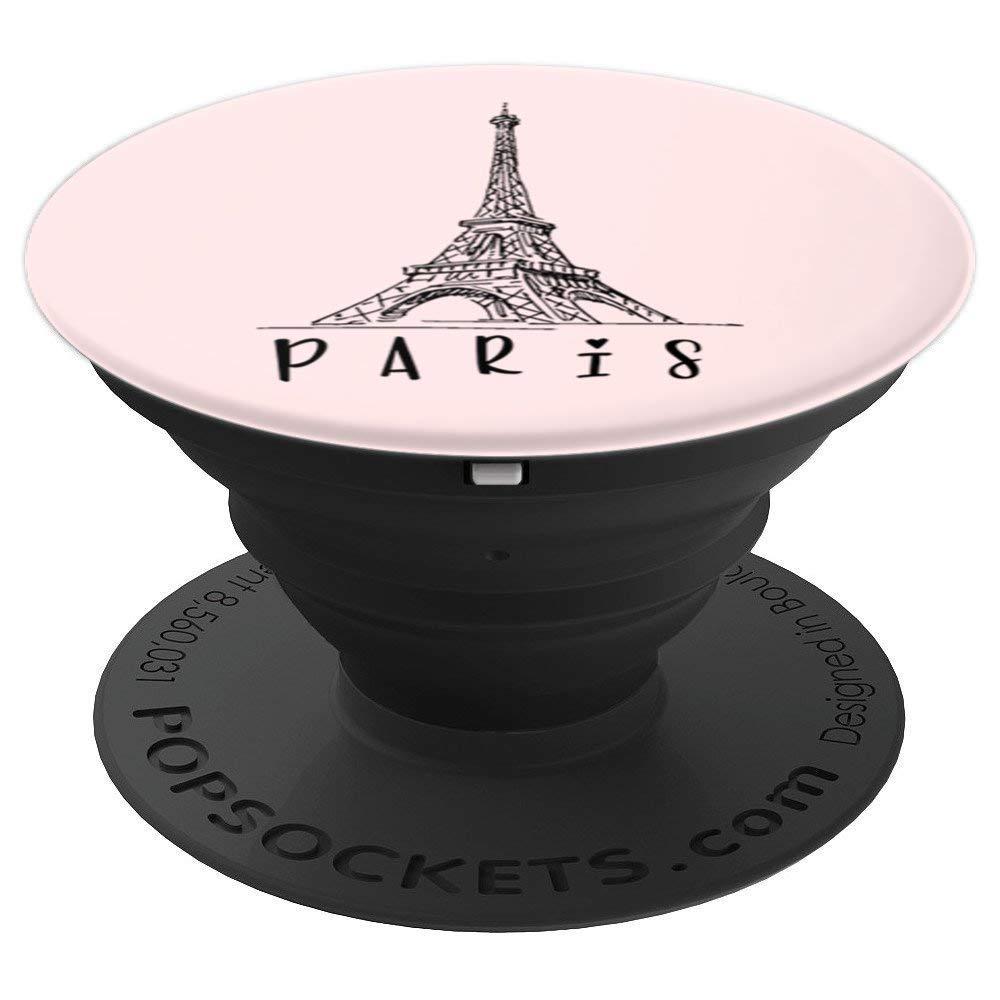 Eiffel Tower & Paris Pop Design - PopSockets Grip and Stand - PopSockets Grip and Stand for Phones and Tablets