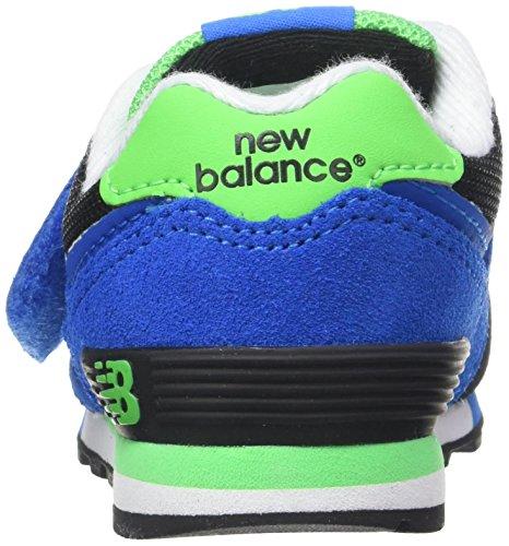 New Balance KV574, Zapatillas Infantil Multicolor (Black/Blue)