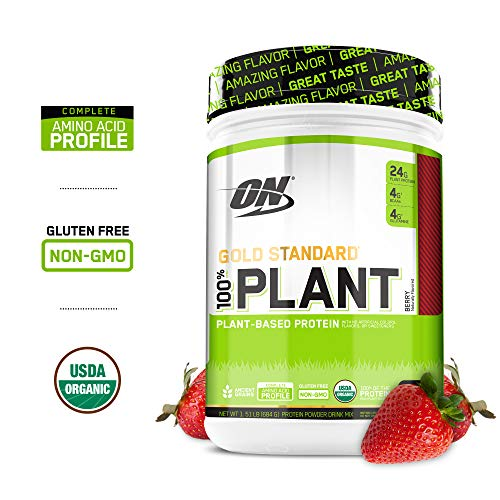 OPTIMUM NUTRITION GOLD STANDARD 100% Whey Protein Powder, Delicious Strawberry