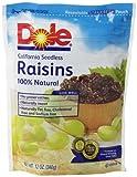 Dole Raisins, 12 Ounce Pouches