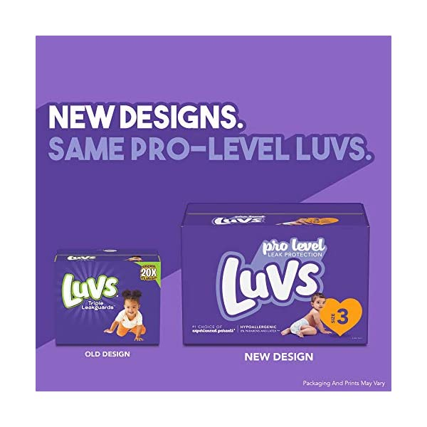 Luvs Ultra Leakguards Disposable Baby Diapers