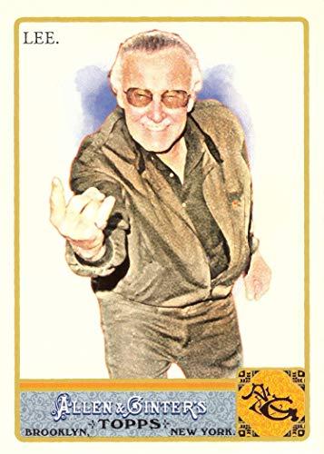 2011 Topps Allen & Ginter #274 Stan Lee Baseball Card - Founder of Marvel Comics from Topps