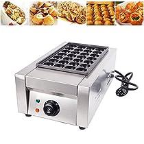 28Pcs Cake Machine 110V Commercial Takoyaki Maker Japanese Octopus Fish Ball