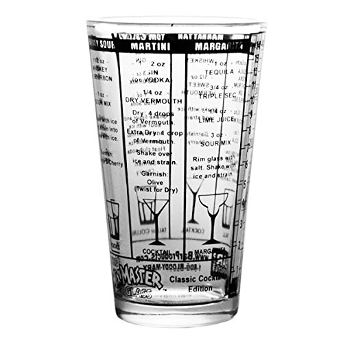 BarConic Classic Recipes Measured Mixing Glass