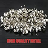 Hilitchi 200 Pieces 5/8'' (16mm) Round Dome Head