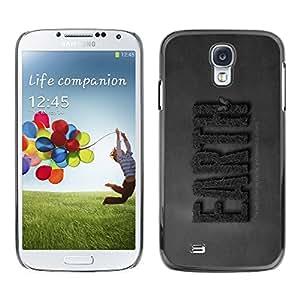 YiPhone /// Prima de resorte delgada de la cubierta del caso de Shell Armor - EARTH Save Nature - Samsung Galaxy S4 I9500