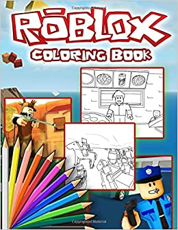 Roblox Coloring Book: Roblox Jumbo Coloring Book For all Fans and