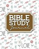 Bible Study Journal: Bible Journal For Men, Bible