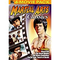 Martial Arts Classics 4-Movie Pack -  Black Fist, Head Hunter, Black Godfather, Fist of Fear, Touch of Death [Import]
